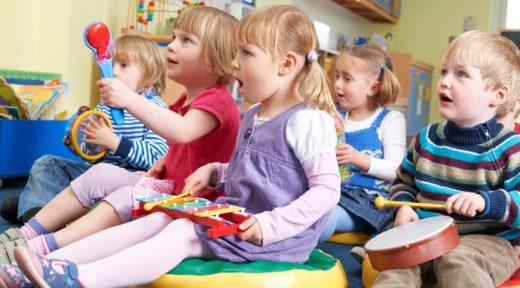 Musikurse für Kinder ab 1,5 Jahren
